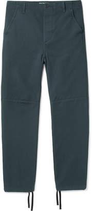 Balenciaga Panelled Cotton-Twill Trousers