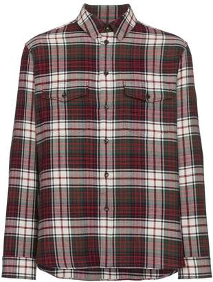 Gucci Check Flannel Shirt