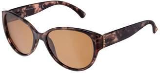 fd09b18ada2 Boots Polarised Ladies Purple Tortoiseshell Sunglasses with Gold Temples