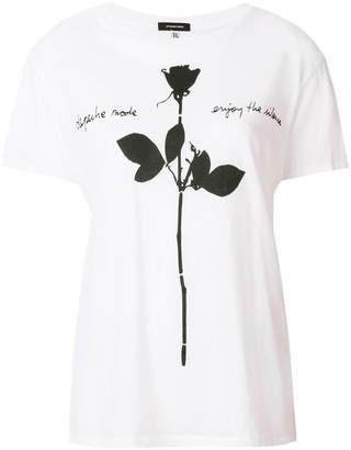 R 13 rose print T-shirt