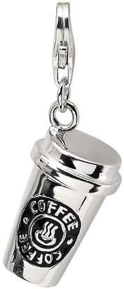 Amore La Vita Sterling Dimensional Coffee Cup Charm