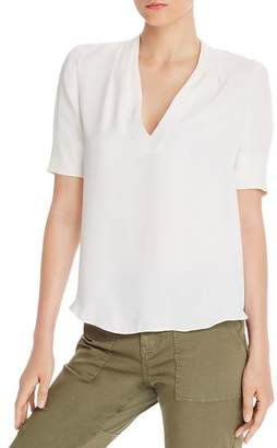 Joie Ance Short-Sleeve High/Low Top