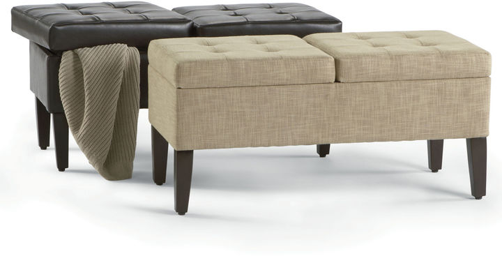 JCPenney JCP 2-Compartment Storage Bench