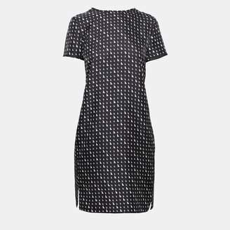 Theory Silk Triangle Print Tee Dress