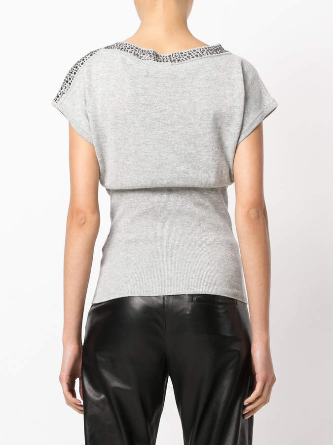 Philipp Plein fitted top