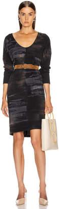 Raquel Allegra Raglan Dress in Midnight Tie Dye | FWRD