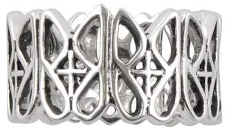 Barse Sterling Silver Lacy Band Ring
