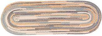 Colonial Mills Perfect Print Braided Reversible Rug Runner - 2' x 6' Oval