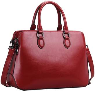 55fd59e3c7e6 at Amazon Canada · Heshe Leather Womens Handbags Totes Top Handle Bags  Shoulder Bag Satchel for Ladies with Long Cross