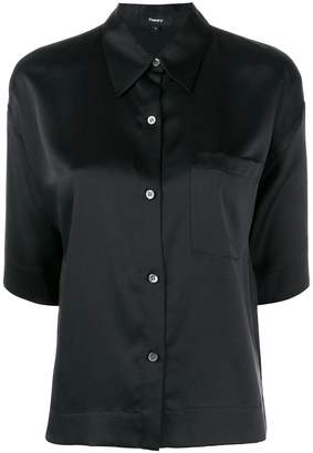 Theory chest pocket shirt