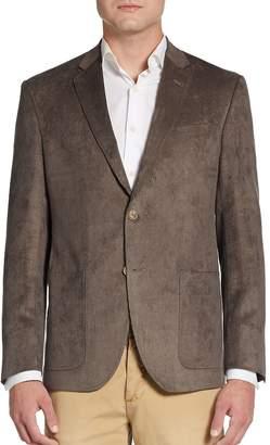 Saks Fifth Avenue BLACK Men's Classic-Fit Corduroy Sportcoat
