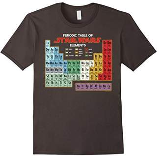 Star Wars Periodic Table of Elements Graphic T-Shirt