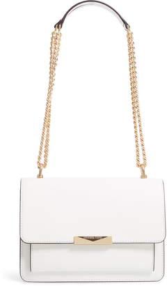 b9c1419bb519 MICHAEL Michael Kors Jade Leather Gusset Shoulder Bag