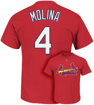 Majestic Big & Tall St. Louis Cardinals Dustin Pedrioa Player Name and Number Tee Tee