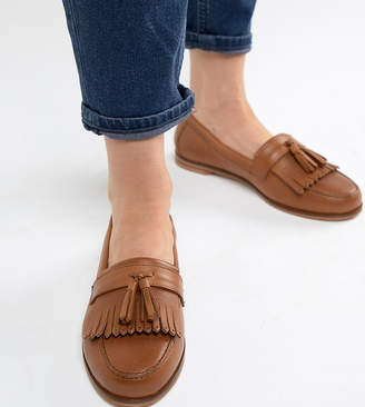 Park Lane Leather Flat Loafers