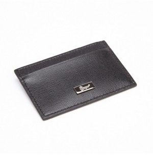 Emporium Leather Co Royce Rfid Blocking Slim Credit Card Wallet in Genuine Saffiano Leather