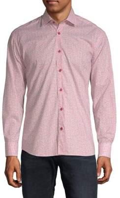 Francois Cotton Button-Down Shirt
