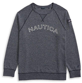 Nautica Big and Tall Long-Sleeve Pullover