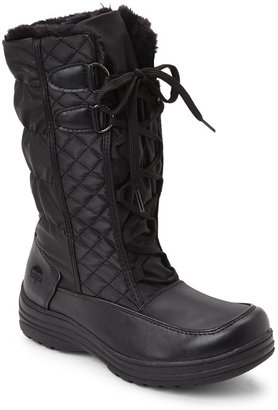 totes Black Corina Snow Boots $59 thestylecure.com