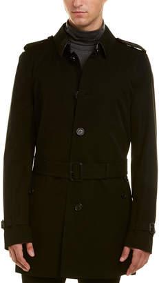 Burberry Kensington Mid-Length Trench Coat