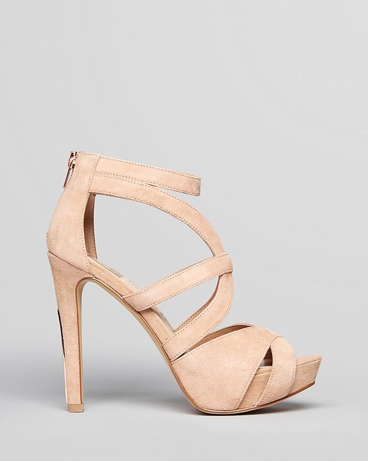 DV Dolce Vita Platform Sandals - Balla High Heel