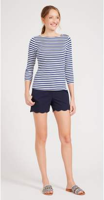 J.Mclaughlin Petal Scallop Shorts