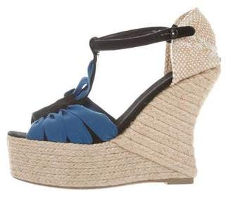 0a9c9e8b6f2 Pre-Owned at TheRealReal · Castaner T-Strap Espadrille Wedges
