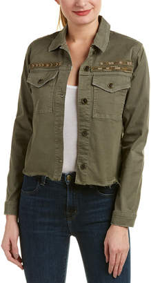 Joe's Jeans The Military Crop Jacket