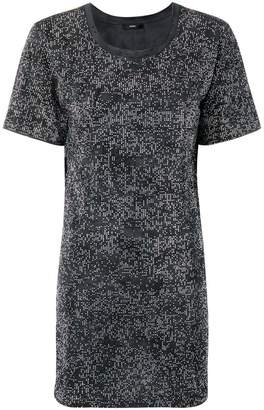 Diesel All-over stud T-Shirt dress