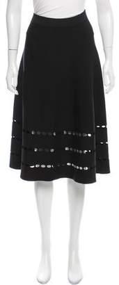 Ohne Titel Cutout A-Line Skirt