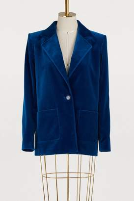 Vanessa Seward Velvet jacket