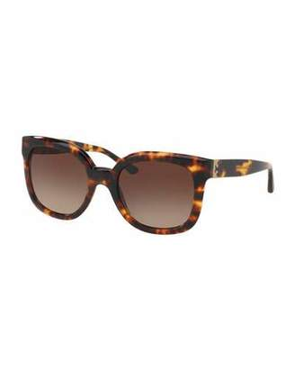 Tory Burch Modern-T Cat-Eye Sunglasses, Vintage Tortoise $175 thestylecure.com