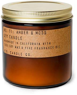 P.F. Candle Co. No. 11 Amber & Moss Soy Candle