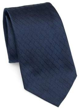 Emporio Armani Silk Diamond Tie