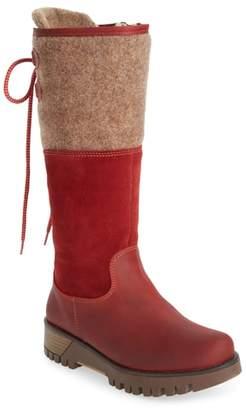 Bos. & Co. 'Ginger' Waterproof Mid Calf Platform Boot