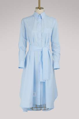 Thom Browne Belted shirt dress