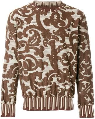 Vivienne Westwood baroque jacquard sweatshirt