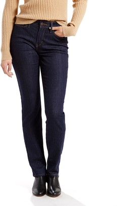 Levi's Levis Women's 525 Perfect Waist Straight-Leg Jeans