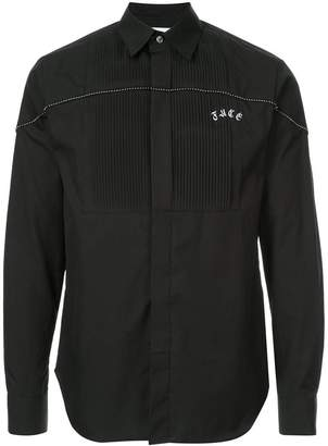 Facetasm stud detail shirt
