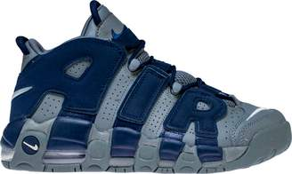 Nike More Uptempo 96 Cool Grey Midnight Navy (GS)