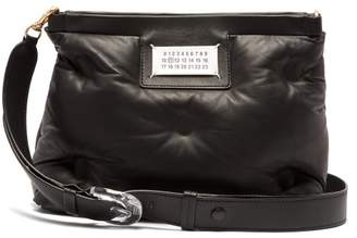 Maison Margiela Glam Slam Quilted Leather Cross Body Bag - Womens - Black