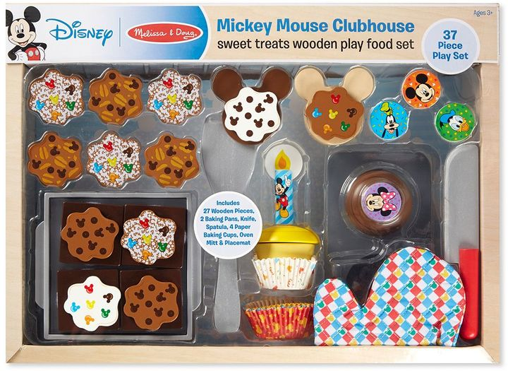 Melissa & doug Mickey Mouse Clubhouse Sweet Treats Wooden Play Food Set by Melissa & Doug