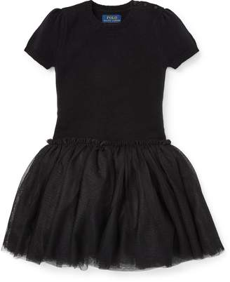Ralph Lauren Tulle Sweater Dress