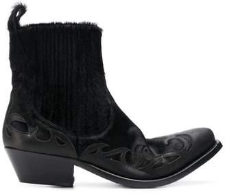 Golden Goose Santiago cowboy boots