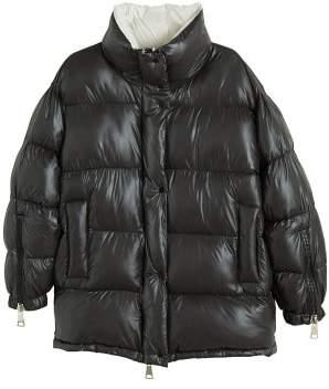 MANGO Quilted water-repellent coat