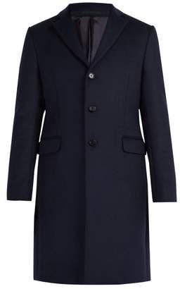 Acne Studios Gavin Wool Blend Coat - Mens - Navy