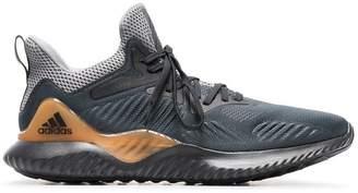 adidas Black and white Iniki Runner sneakers