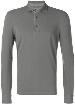 Ballantyne long-sleeved polo shirt