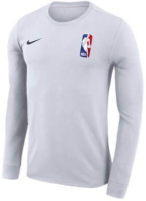 Nike Men's Nba League Logo Dri-fit Team 31 Long Sleeve T-Shirt