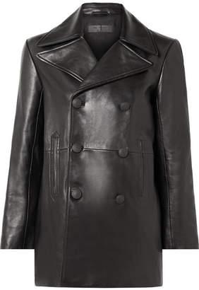 Rag & Bone Nella Double-breasted Leather Coat